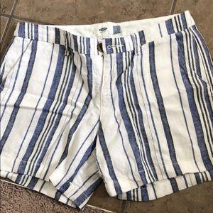 Pants - Old navy linen shorts